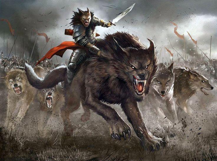 Werewolf Warrior Drawings Werewolf Warrior Art