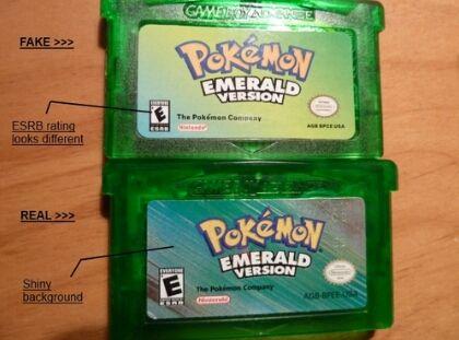 Bootleg Pokemon Games Fake Pokemon Games