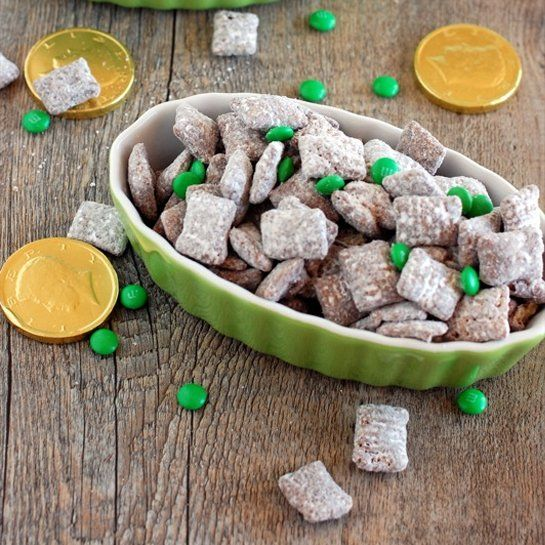 Gluten-Free Dessert for St. Patrick's Day: Muddy Buddies with Chex ...