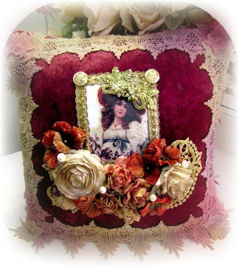 Victorian Lady Pillows : Victorian Splendor Lady Pillow Pillows Pinterest