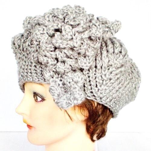 Free Crochet Pattern French Beret : Crocheted French beret Crochet Pinterest