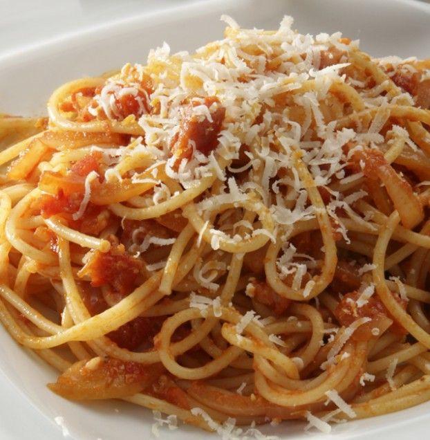 Roman-Style Spaghetti Pasta Recipes | Favorite Recipes | Pinterest