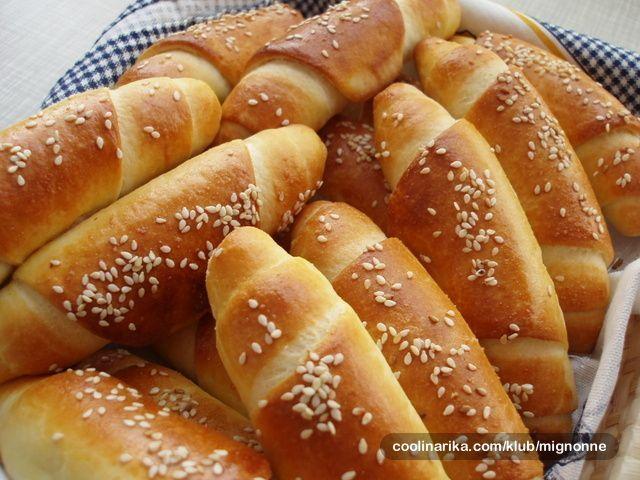 pekarske kiflice | The flavors of my childhood | Pinterest
