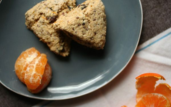 orange almond oat scones | Two: EATS | Pinterest