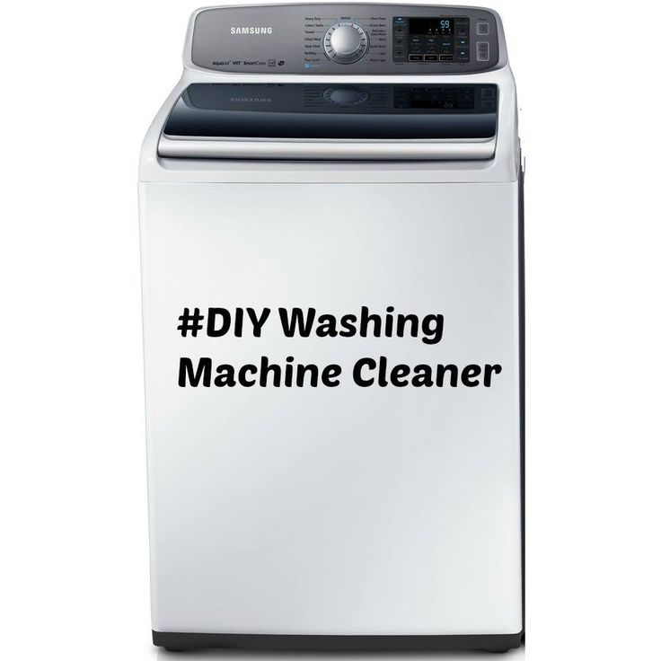 and vinegar in washing machine