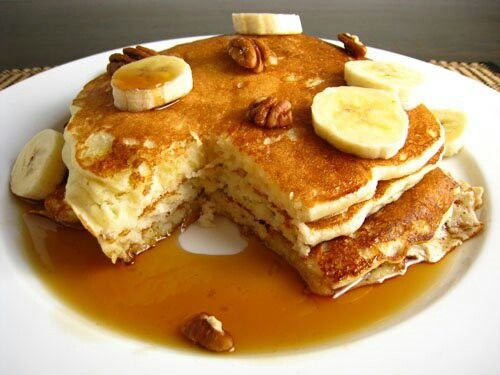 Banana Pecan Pancakes | Food I Love ♥♥♥ | Pinterest