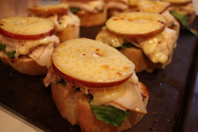 apple butter sandwich open faced sandwiches with ricotta arugula and ...