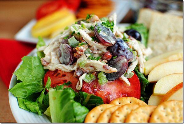 Honey Almond Chicken Salad