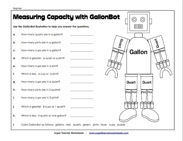 gallon bot | Homeschooling | Pinterest
