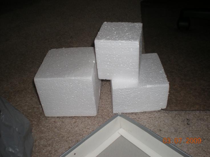 Styrofoam Blocks Prop Construction Design Pinterest