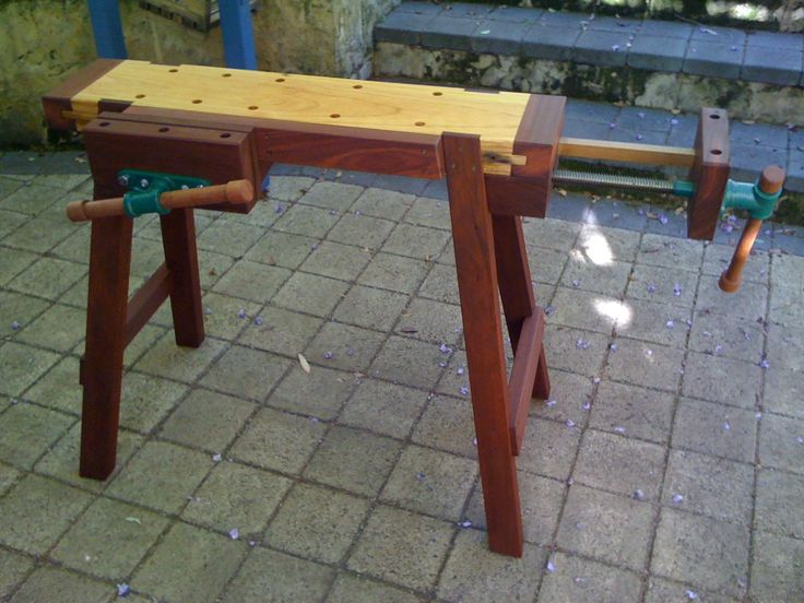 portable workbenches woodworking benches pinterest