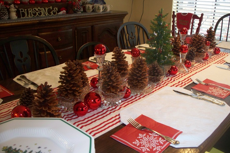 ... to make these simple tips for our. Pinterest Christmas Table Ideas