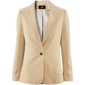 Cream Leather Jacket Women