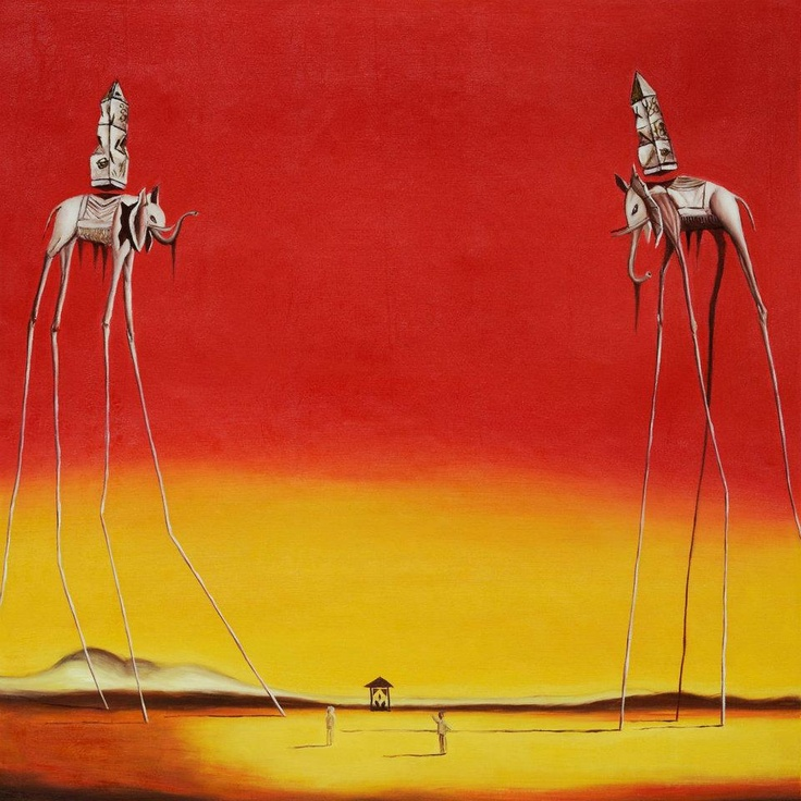 the burning giraffe salvador dali Watch salvador dali's painting the burning giraffe come to life in this short animated video category people & blogs license standard youtube license show more.