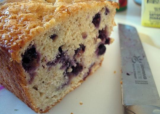 Blueberry-Oat Quick Bread | Recipe
