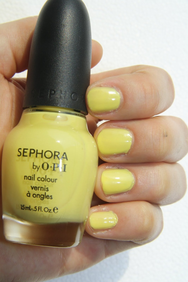 OPI IM Beauty. #nailpolish nice pale yellow must have!