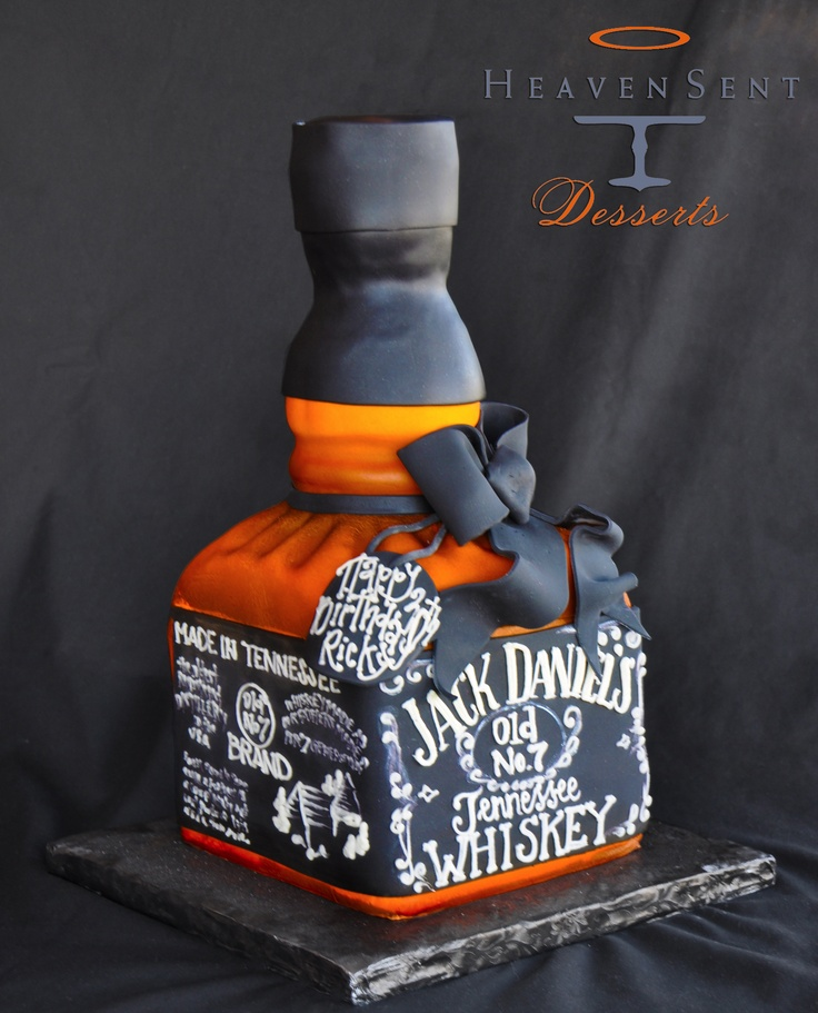 Old Jack Daniels Cake Ideas and Designs