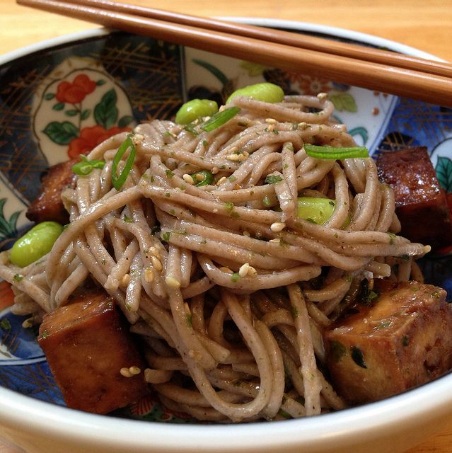 cold-soba-noodle-salad-with-baked-tofu http://the-cooking-of-joy ...