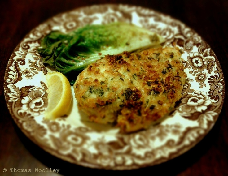 Food Idiot Trying: Panko-Parmesan Crusted Chicken with Caesar Roasted ...