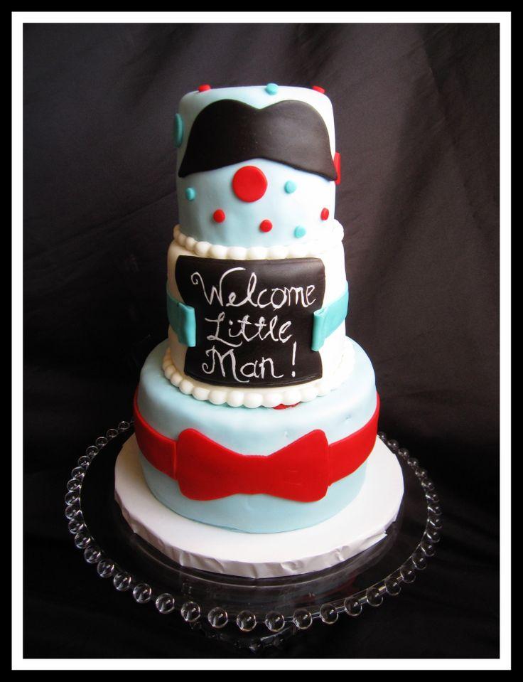 little man baby shower cake for my rainbow baby pinterest