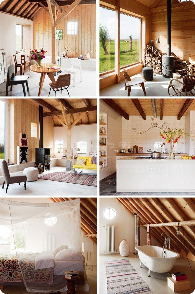 Converted Barn Interior Scenes