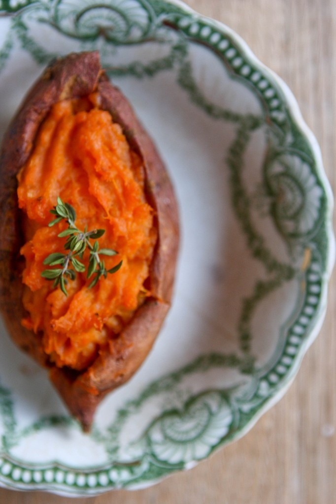 Baked Stuffed Potatoes With Roasted Garlic Recipes — Dishmaps