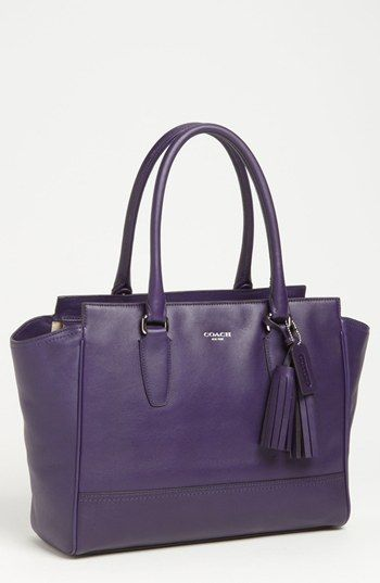 COACH 'Legacy Candace - Medium' Shoulder Bag Purple | Nordstrom