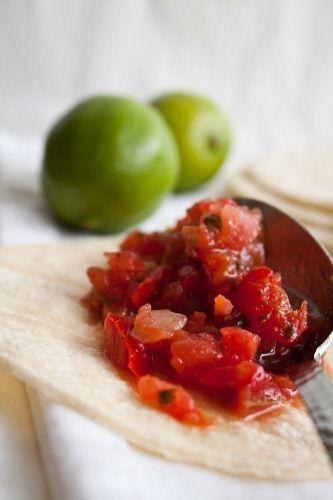 salsa fresca | Dips, Dressings, & Sauces | Pinterest