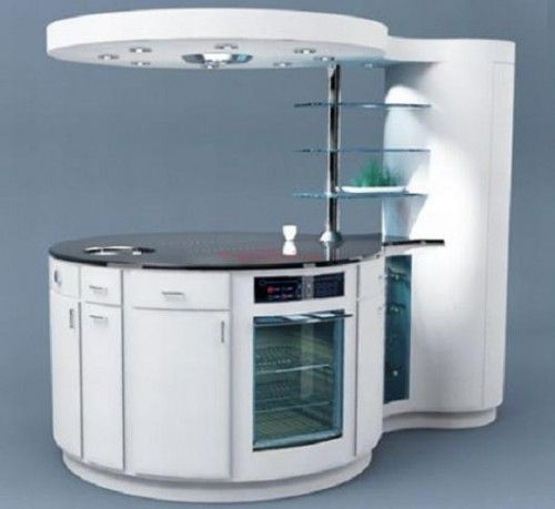 Compact kitchen for small spaces homes architecture pinterest - Small spaces kitchen property ...