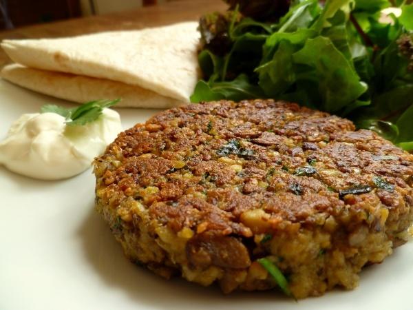 Mushroom and Chickpea Vegetarian Burgers | Food Stuffs | Pinterest