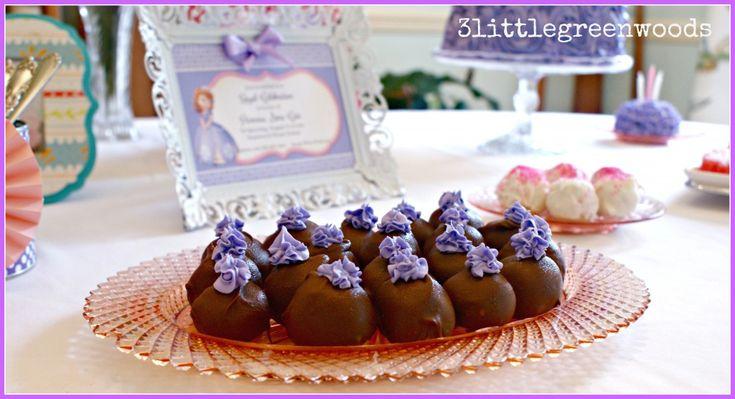 simple cake balls | Charlotte's 2nd birthday party | Pinterest