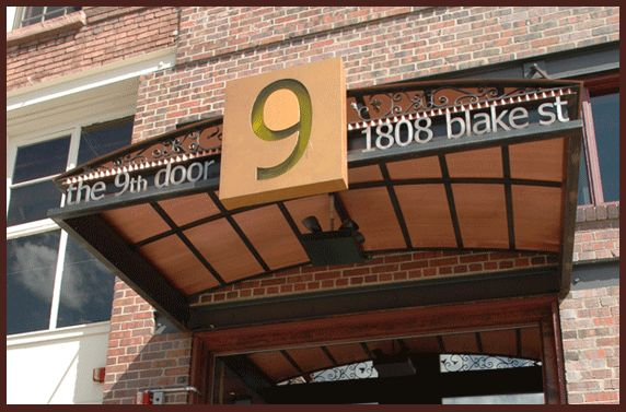The 9th door denver fav restaurants pinterest for Door 9 denver