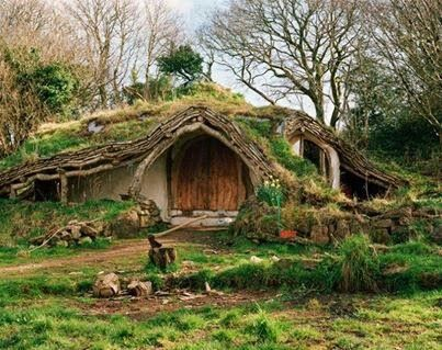 real life hobbit house wales places i want to visit