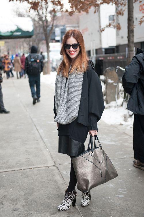 Fashion Week Street Style 2014 Anna E. Cottrell, Blogger, Tulip Louise #fashionweek #nyfw #nyfw2014 #fashionweek2014 #fashion #nyc #newyork #newyorkcity #TracyReeseshow #chelsea #guestofaguest  http://ow.ly/tyMst