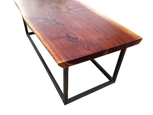 Live Edge Reclaimed Walnut Coffee Table By Phweld On Etsy