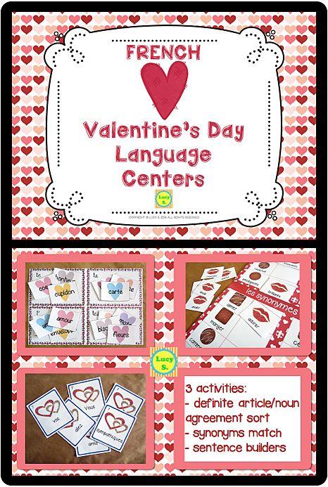 valentine day french phrases