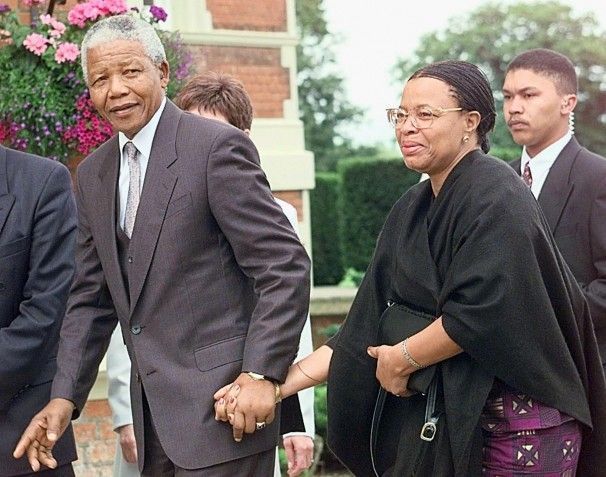 ... Machel, a first lady twice over: The woman by Nelson Mandela's side
