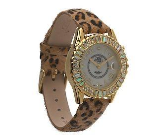Leopard gold watch treasures pinterest