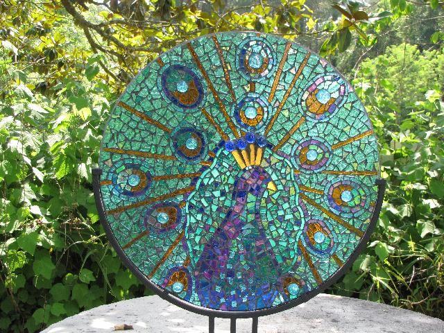 peacock mosaic pattern peacock mosaic mosaics birds