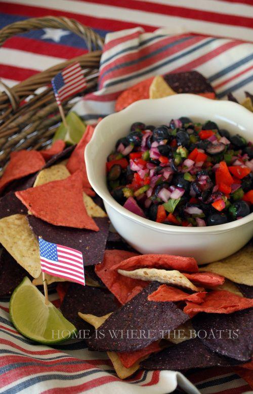 Salmon With Blueberry Mango Salsa Recipes — Dishmaps