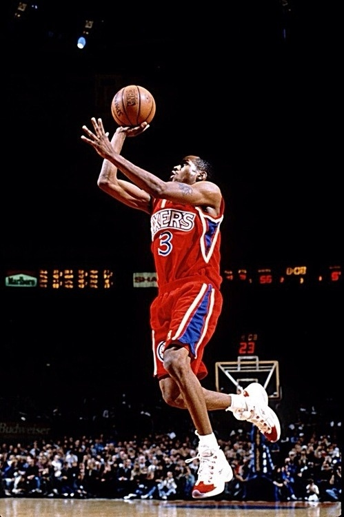 Rookie Year with the Sixers | Allen Iverson | Pinterest