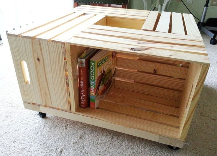 No ideas how to make wooden crates craft ideas pinterest for Craft crates