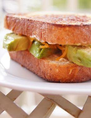 Avocado Jalapeno Cheddar Cheese sandwich | Recipes To Make | Pinterest