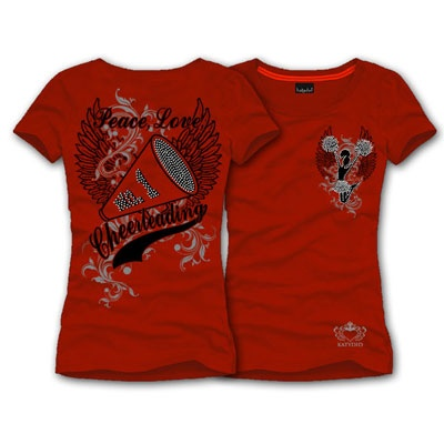 cheer mom shirt with some bling but i would add more shirt design