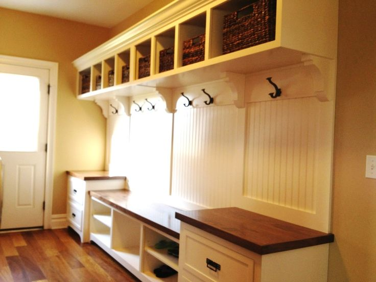 carpenter, mudroom design  Mudroom after (this was done by a ...