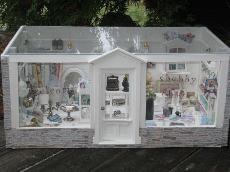 shabby chic shop front shop fronts and displays pinterest. Black Bedroom Furniture Sets. Home Design Ideas