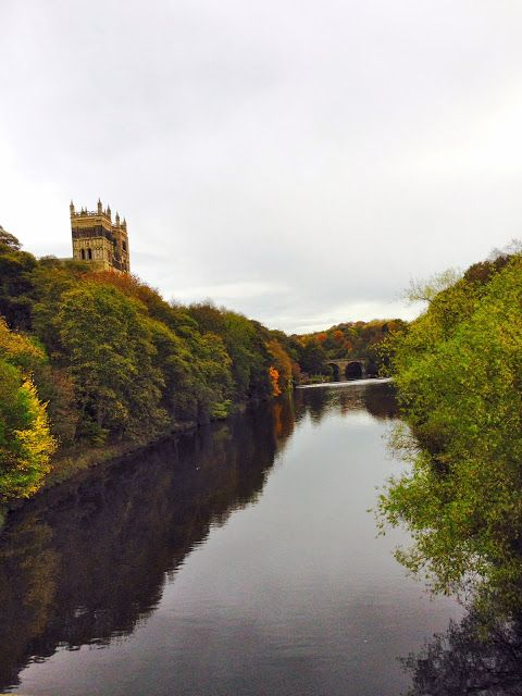 Durham, River Wear, England. Travel