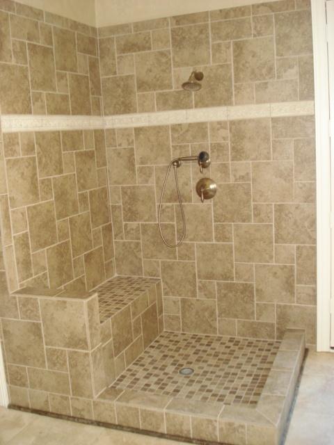 Open Shower Design Decor For Me Casa Pinterest