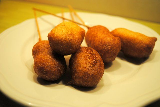 Mini Corn Dogs and Cheese On A Stick (1) From: The Last Wonton, please ...
