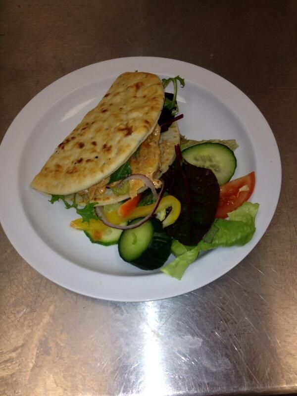 cheftonymulgrew Chicken tikka flat bread with salad or Mexican ...